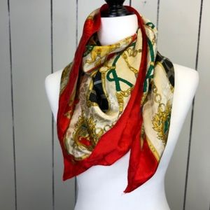 Royal Vintage Gold Chain Scarf